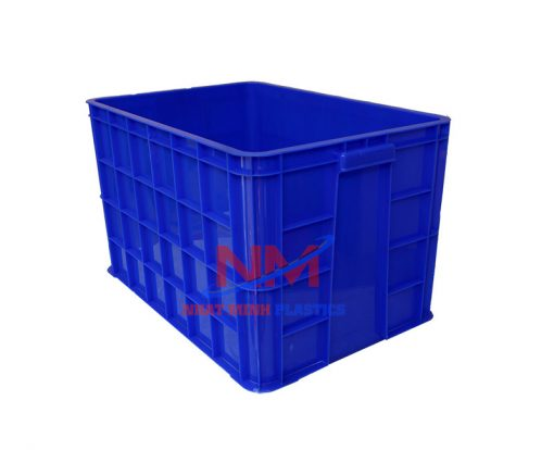 Sản phẩm thùng nhựa 8 sóng bít 610 x 420 x 390mm