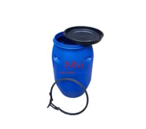 Thùng phi nhựa nắp hở 50 lít được sử dụng nhiều để đựng các chất phụ gia và chất giặt tẩy công nghiệp