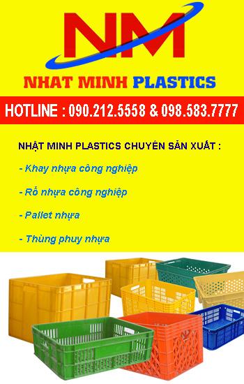 Banner nhựa Nhật Minh Plastics