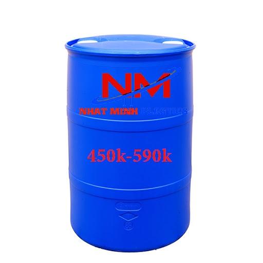 Thùng phuy nhựa 220l giá bao nhiêu
