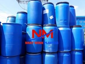 Mua thùng phuy nhựa cũ Hà Nội chất lượng tiền triệu