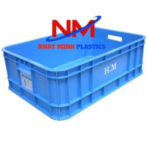 Thùng nhựa  in logo thương hiệu