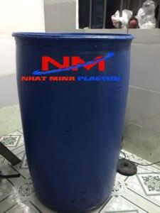 Thùng phuy nhựa 200 lit đã qua sử dụng