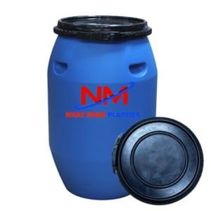 Chất liệu nhựa nhựa nguyên sinh HDPE cho thùng phuy luôn dẻo dai,chịu lực tốt