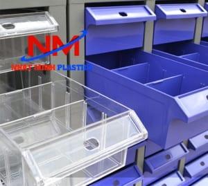 Khay nhựa đựng linh kiện có vách ngăn giúp dễ dàng phân loại đồ ra các ngăn
