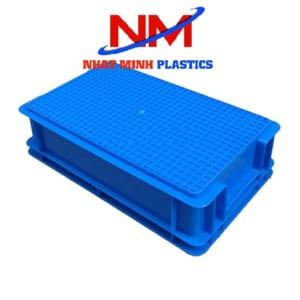 Thiết kế mặt đáy khay nhựa đặc b2