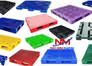 Mua bán các loại pallet nhựa đủ màu sắc,kích thước khác nhau