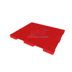 Pallet nhựa mặt kín 1200 x 1000 x 78mm