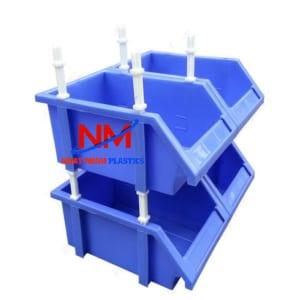 Thanh lý khay nhựa đựng linh kiện xếp chồng tiện dụng