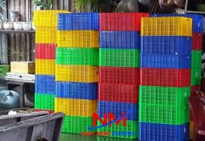 Sóng nhựa hở có rất nhiều ưu điểm và có thể xếp chồng 20 chiếc lên với nhau