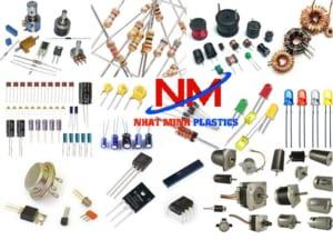 Các loại linh kiện điện tử đều chứa được trong khay nhựa công nghiệp