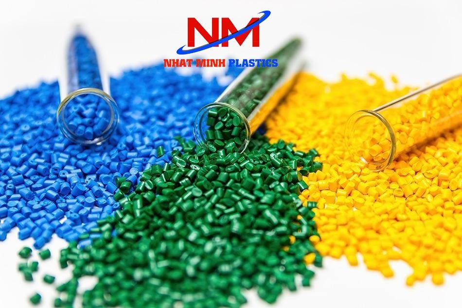 Nguyên liệu nhựa hạt nguyên sinh sản xuất ra sọt nhựa đựng thủy sản