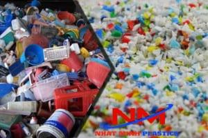 Nguyên liệu nhựa tái sinh