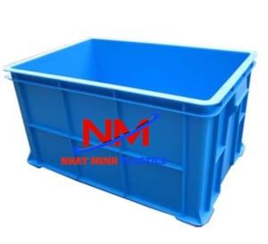 Thùng nhựa đăc công nghiệp có độ bền dẻo và chịu nhiệt rất tốt