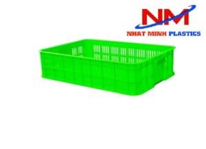 Sóng nhựa hở 1T5 màu xanh lá