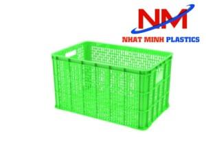 Sóng nhựa hở màu xanh lá được sử dụng nhiều trong các siêu thị lớn