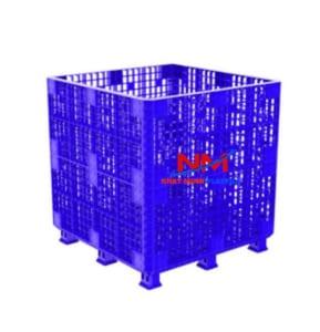 Pallet box 1200 x 1200 x 1250 mm cấu tạo lắp ráp rất chắc chắn