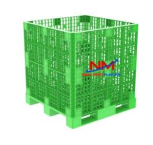 Cách lắp ráp Pallet box 1200 x 1200 x 1250 mm cũng rất đơn giản,nhânh gọn