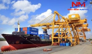 Pallet box 1200 x 1200 x 1250 mm vận chuyển hàng hóa rất an toàn từ trên cao xuống