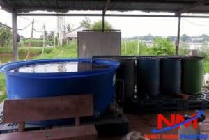 Mua tank nhựa hình tròn nuôi cá Koi tại Nhật Minh Plastics có độ bền trên 10 năm sử dụng