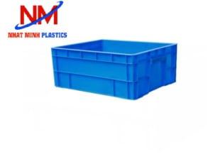 Khay nhựa công nghiệp Hà Nội 2T2 kt  510 x 430 x 220 mm