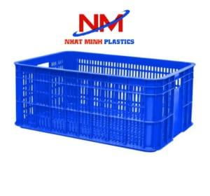 Rổ nhựa công nghiệp sóng hở thanh lý giá rẻ