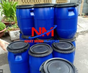 Mua thùng phuy nhựa ở Hà Nội chất lượng,giá rẻ đến ngay Nhật Minh Plastics