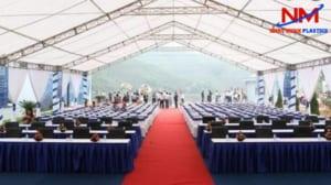 Dịch vụ cho thuê pallet nhựa tại Hà Nội cho các sự kiện tổ chức ngoài trời