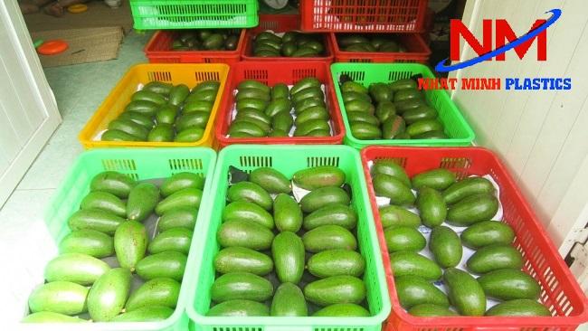 Giá sóng nhựa đựng trái cây cụ thể liên hệ 098.583.7777