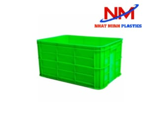 Khay nhựa vuông công nghiệp 3 tấc 9 kích thước 626 x 424 x 390 mm