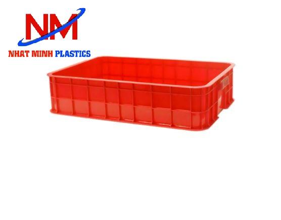 Khay nhựa đặc kích thước nhỏ 610 x 420 x 190 mm