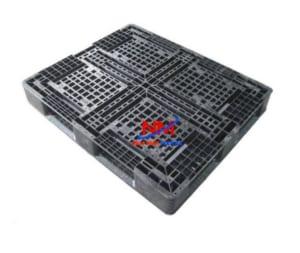 Mua pallet nhựa đen kích thước 1100 x 1100 x 125 mm