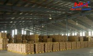 Pallet nhựa kê hàng hóa bảo quản hàng hóa trong kho