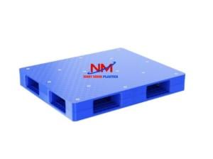 Pallet nhựa trọng tải lớn mặt kín kích thước 1200 x 1100 x 150 mm