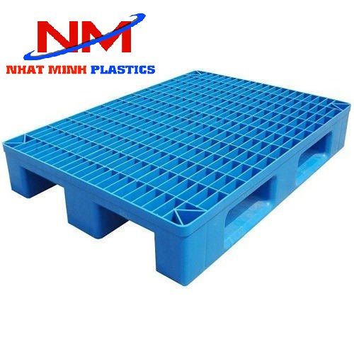 Pallet nhựa một mặt hở