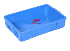Khay nhựa công nghiệp nhỏ kích thước 626 x 424 x 102 mm
