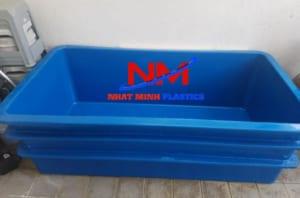 Mua thùng nhựa chữ nhật nuôi cá loại lớn tại Nhật Minh đảm bảo bền hơn 10 năm sử dụng