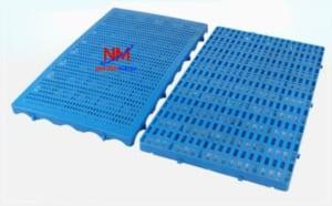 Pallet nhựa mỏng mặt hở kích thước 1000 x 600 x 83 mm