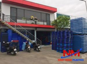 Pallet nhựa Nhật Minh - công ty pallet nhựa tại Hà Nội cực kỳ chất lượng