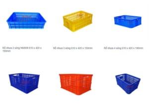 Mua rổ nhựa vuông có rất nhiều ưu điểm vượt trội hơn nhiều so với rổ nhựa thông thường