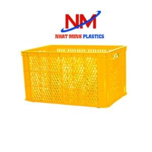 Ro nhựa vuông cao Nhật Minh làm từ nhựa nguyên sinh HDPE siêu bền chắc