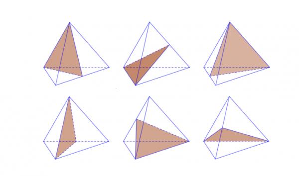 Hình tứ diện đều có bao nhiêu mặt phẳng đối xứng